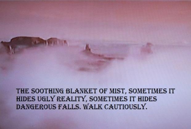 blanket of mist 17W